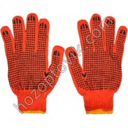 Перчатки оранжевые