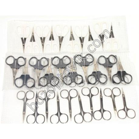 ножницы (12 грн) маникюрные укр (черные,белые,железные)