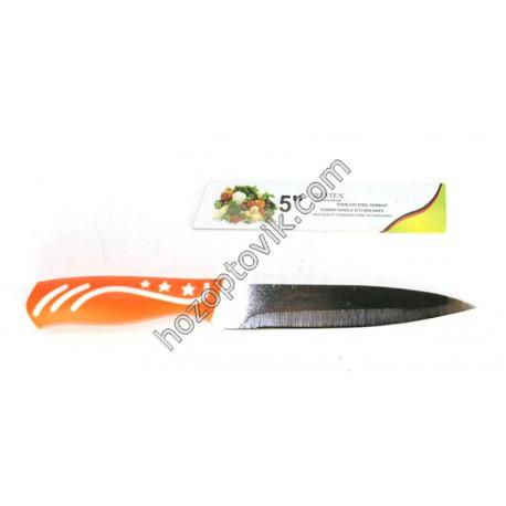 Нож оранжевый 5-ка