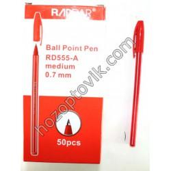 Ручка 555 синяя,красная,черная