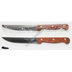 Нож коричневый большой