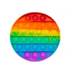 Игрушка Антистресс Pop It Round Rainbow