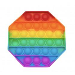 Игрушка Антистресс Pop It Needle Rainbow