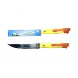 Нож желто-оранжевый 5-ка 24 см