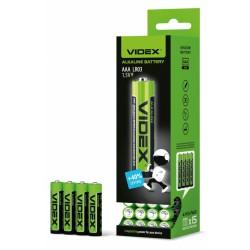 Батарейки Videx LR03 AАA Alkaline (минипальчик)