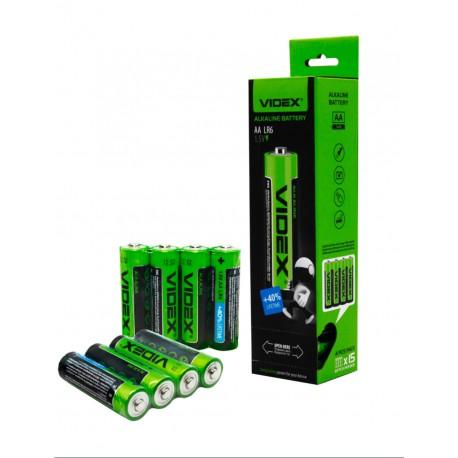 Батарейки Videx LR6 AA (пальчик)