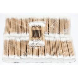Ушные палочки бамбук 80 шт в упаковке