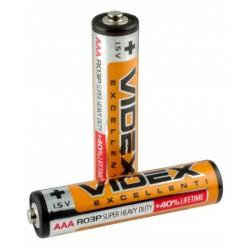 Батарейки Videx R3 AAА (минипальчик)