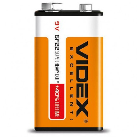 Батарейка Videx 9V крона