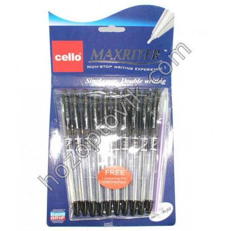 Ручка Cello Масл MAX-RAITER черн.