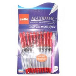 Ручка Cello Масл MAX-RAITER красн.