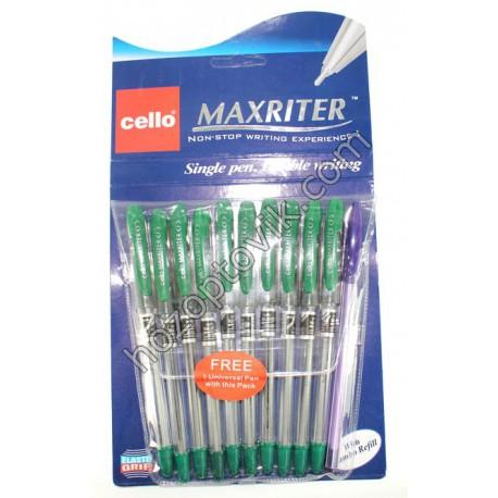 Ручка Cello Масл MAX-RAITER зелен.