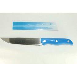 Нож синий большой 6-ка
