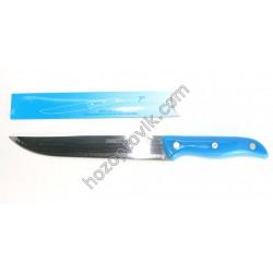 Нож синий большой с открывалкой 7-ка