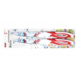 Ножи металокерамика набор по 2 шт на блистере 843-5