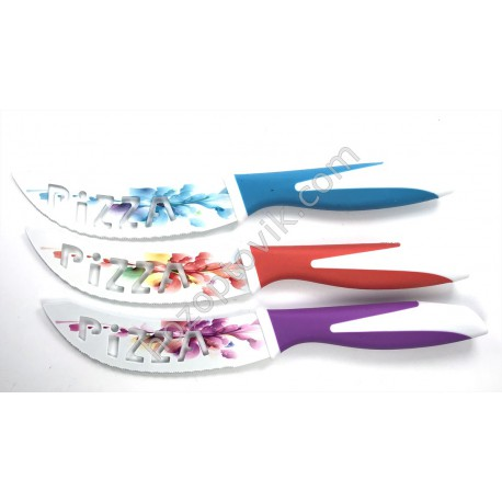 Нож металокерамика с зубчиками
