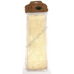 Мочалка с веревкой плетенная